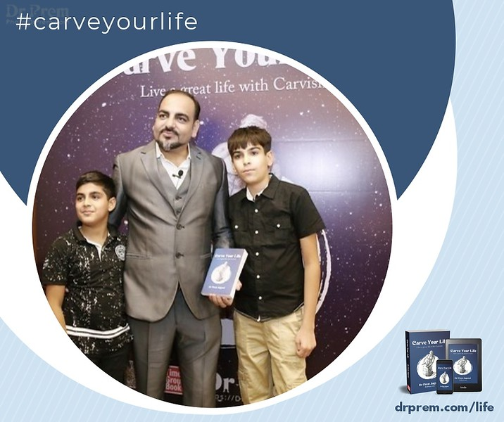 Carve Your Life Book Launch Event Dr Prem Jagyasi21
