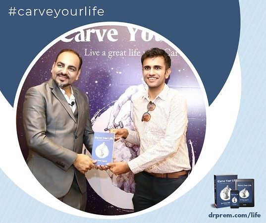 Carve Your Life Book Launch Event Dr Prem Jagyasi18
