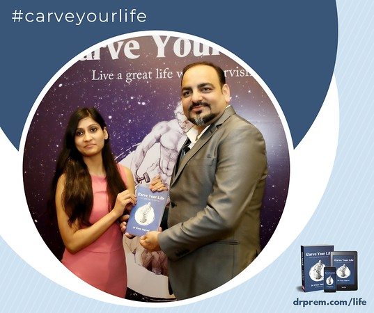 Carve Your Life Book Launch Event Dr Prem Jagyasi1