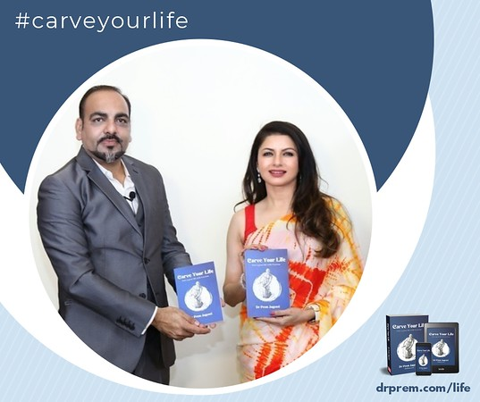 Carve Your Life Book Launch Event Dr Prem Jagyasi16