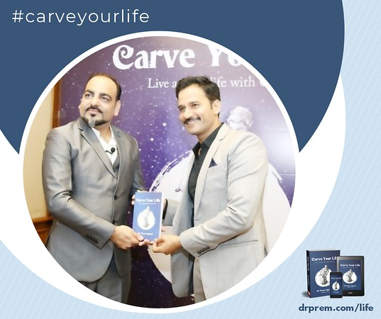 Carve Your Life Book Launch Event Dr Prem Jagyasi17