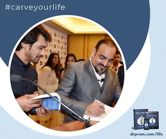 Carve Your Life Book Launch Event Dr Prem Jagyasi25