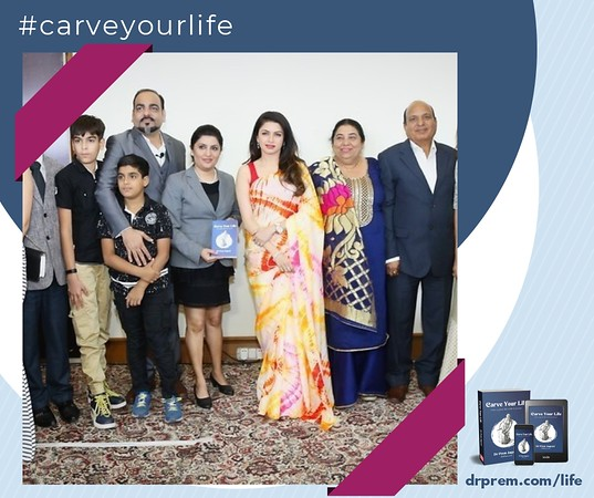 Carve Your Life Book Launch Event Dr Prem Jagyasi29