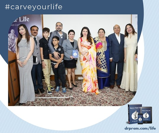 Carve Your Life Book Launch Event Dr Prem Jagyasi28