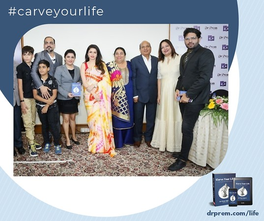 Carve Your Life Book Launch Event Dr Prem Jagyasi27