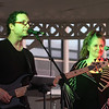 Annual concert and fireworks at Dracut school complex. The band Brandy, including John Anthony of Chelmsford on bass and vocals, and Ceci Cannon of Plaistow, N.H., on vocals. (SUN/Julia Malakie)