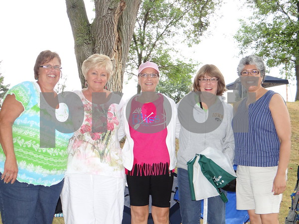 Marla Williams, Ruth Frantzen, Terry Dewald, Nancy Crabbs, and Linda McMamus.