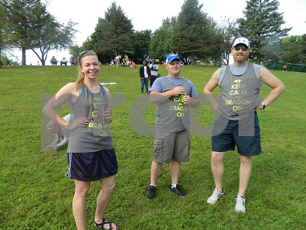 Left to right: Lindsey Jones, Troy Lenz, and Bob Webar