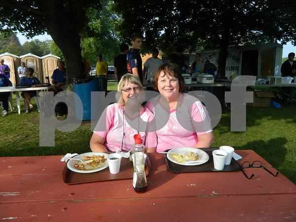 Left to right: Karen Kockorsky and Julie Davis