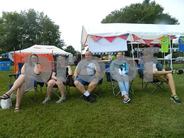 Left to right: Stacy Grimshaw, Abi Grimshaw, Joes Grimshaw, Jenalee Hinkle, and Ben Grimshaw