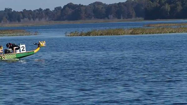 Dragon Boat Racing. Hernando, Florida. Nov. 2014
