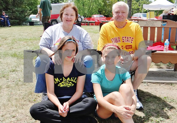 Julie, Charlie, Katie and Keeley Degner