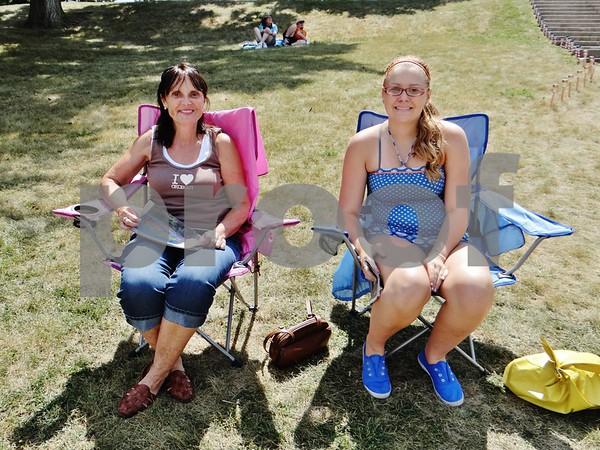 Jolene and Mikayla Peters