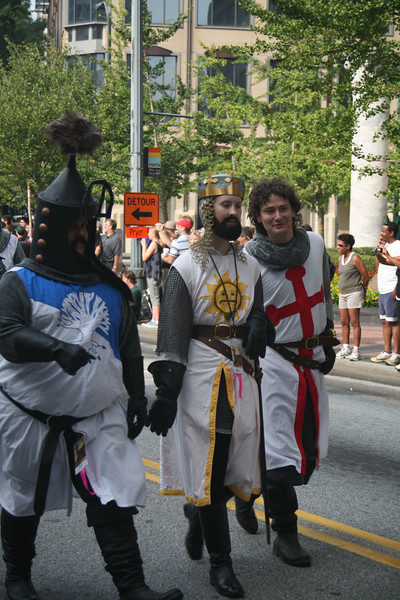 It's the knights from Monty Python