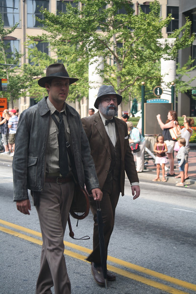 Indiana Jones and his father, Dr. Jones