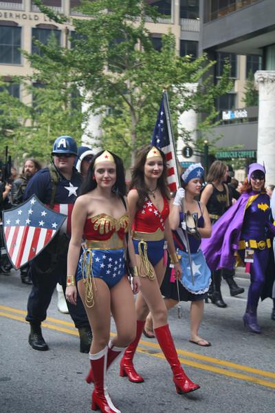 Look!  It's Wonder Woman and...Wonder Woman!