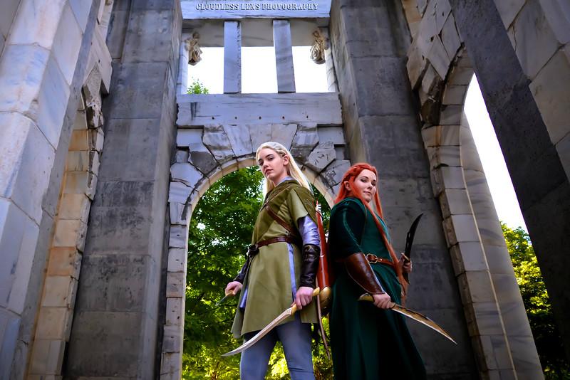 Legolas and Tauriel