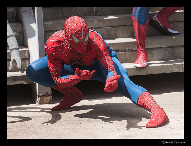 DragonCon 2012 - Marvel photoshoot