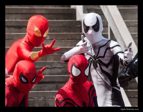 DragonCon 2012 - Marvel photoshoot