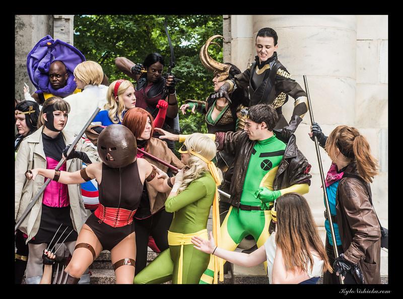 DragonCon 2013 - Genderbent Cosplay