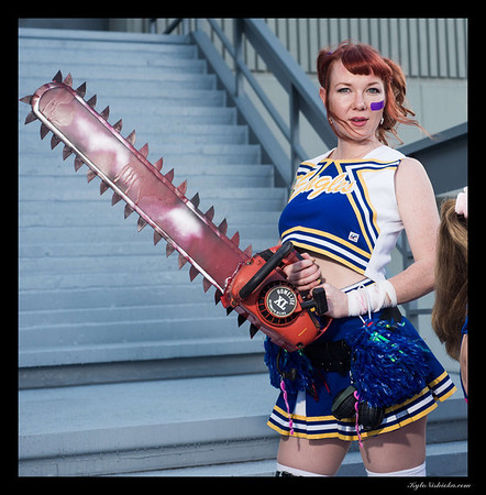 DragonCon 2013 - Lolipop Chainsaw Photo Shoot