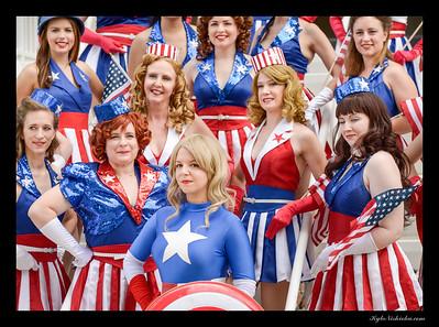 DragonCon 2014 - Captain America