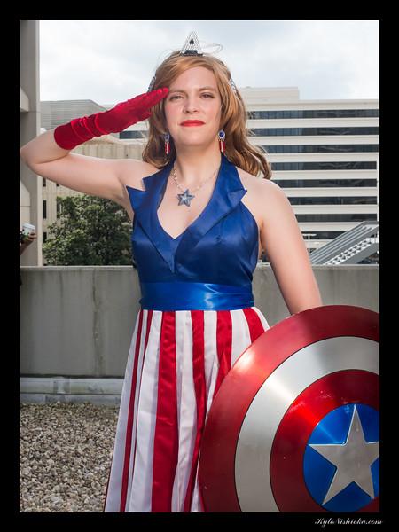 DragonCon 2014 - Captain America photo shoot