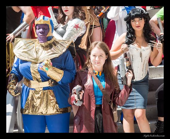 DragonCon 2015 - Genderbent Marvel / DC