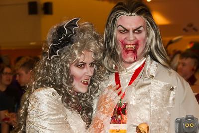 Vampire Cosplayers at DragonCon 2015