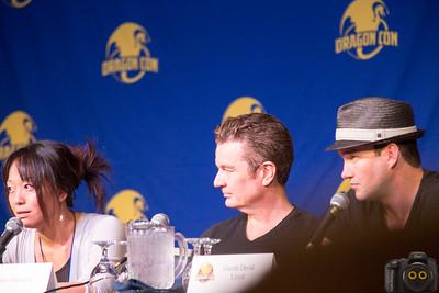 James Masters, Naoko Mori & Gareth David Lloyd