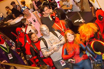 Cosplayers as a Deadpool