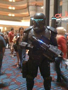 Guests engage in cosplay at Dragoncon 2013.