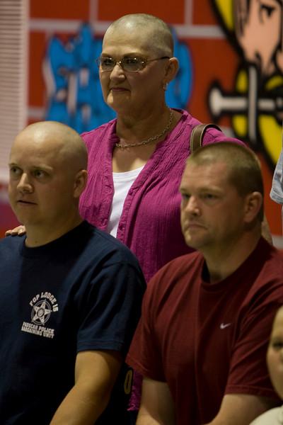 Corey Willenborg, Connie Waldridge, Brent Obermark