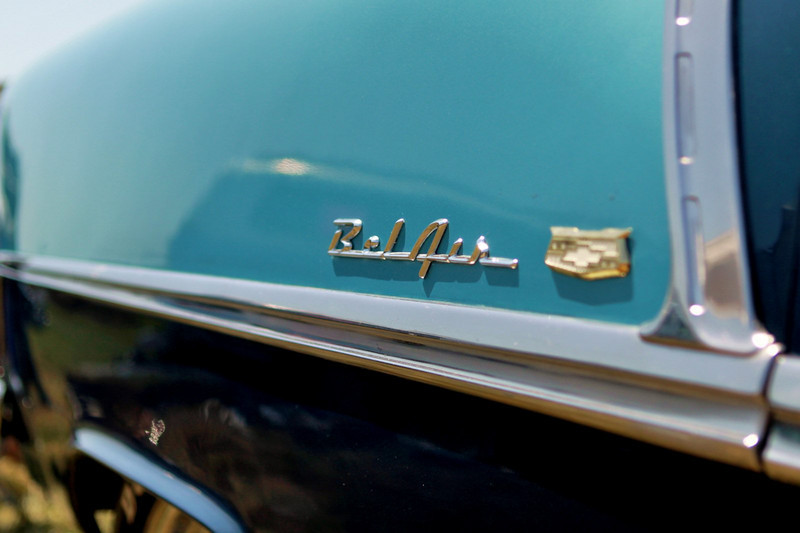 Life was aqua, the air was clean... Bel Air.