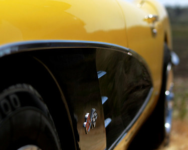 C1 Vette.  Bumble-bee style!