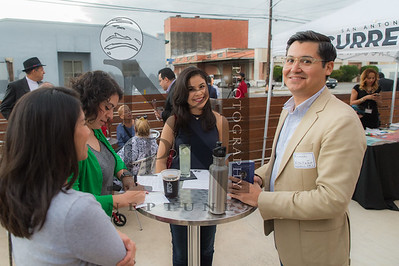 MOVE San Antonio invited college students and young professionals across San Antonio to join local elected officials, and 2017 municipal election candidates to discuss issues important to our generation. Event was held at Dorćol Distilling in SATX on 12Jan17. (Andrew Patterson/SACurrent)