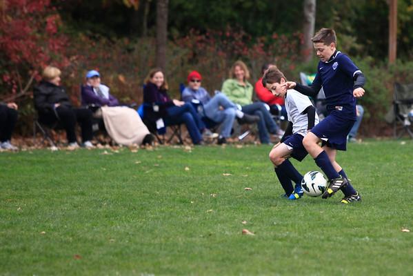 Dreams vs. G's Soccer 10-26-13