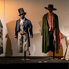 Recreations of costumes worn in stage or film productions of Charles Dickens' books.<br> <b>L to R:</b> Madame Defarge, Artful Dodger, Fagin, Mrs Havisham