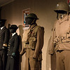 A selection of military costumes. <br> Far right from <i>Saving Private Ryan</i>