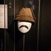 Inspector Clouseau's hat and moustache.