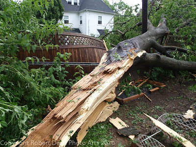 Drexel Park Storm Damage 6-24-2010