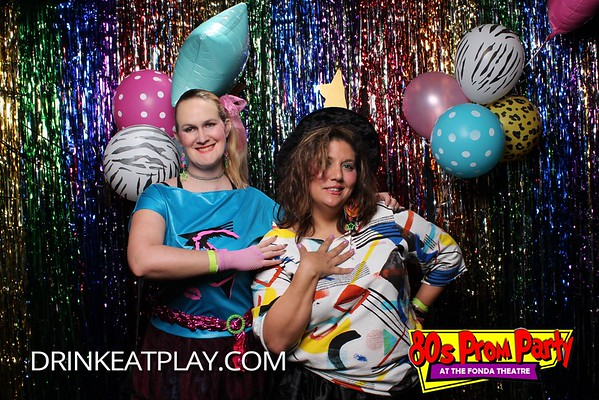 Drink Eat Play 80's Prom