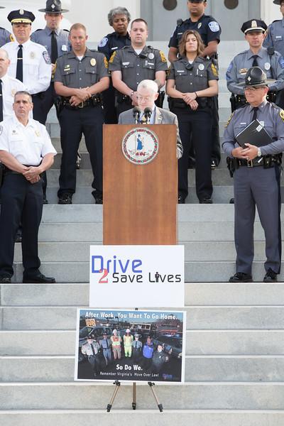 Drive 2 Save Lives Press Conference in Richmond, VA