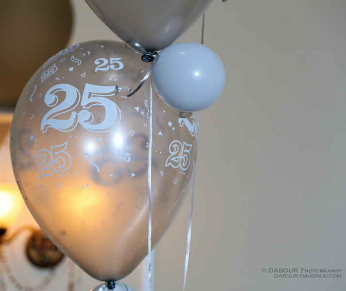 Dual 25th Wedding Anniversary Party