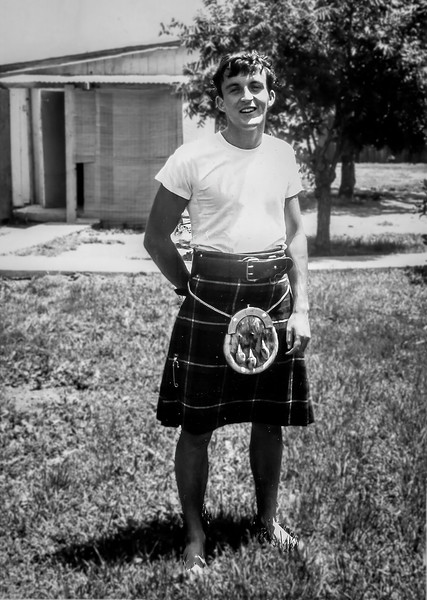 Tom in kilt - 65 yearbook 600 dpi