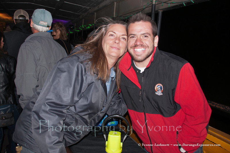 Paula (D&S Reservation Mgr) and Ben (D&S Event Coordinator)...instrumental in making it a success!