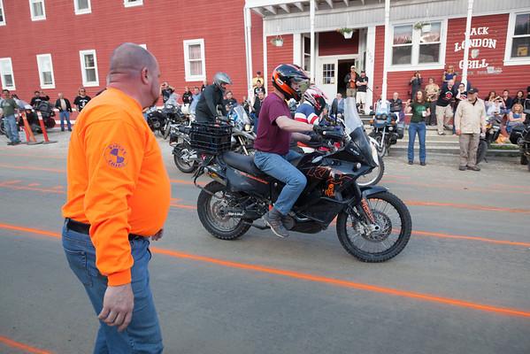 2010 Dust to Dawson Adventure Bike Gathering - Biker Games