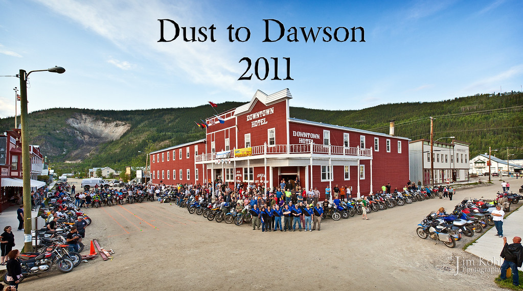 2011 Dust to Dawson Posting of the Bikes Group Photos
