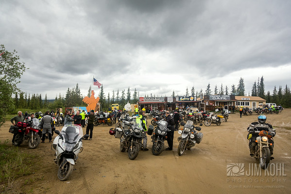 2014 Dust to Dawson Adventure Bike Gathering - Biker Games