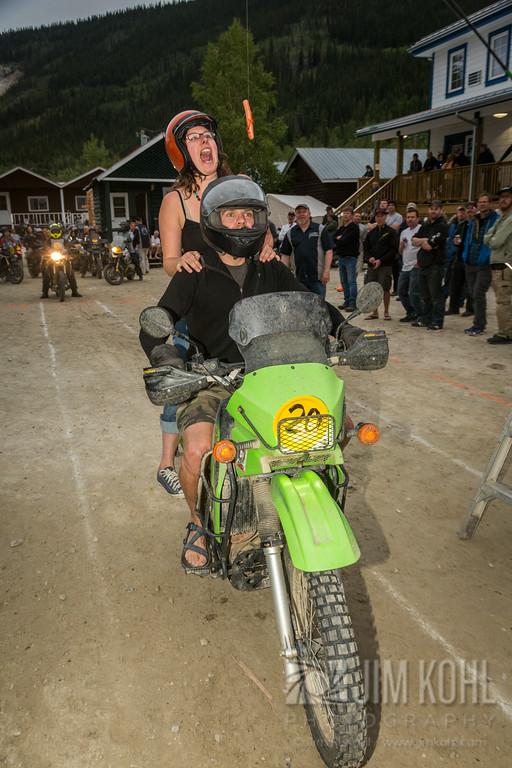 2014 Dust to Dawson Adventure Bike Gathering - Biker Games